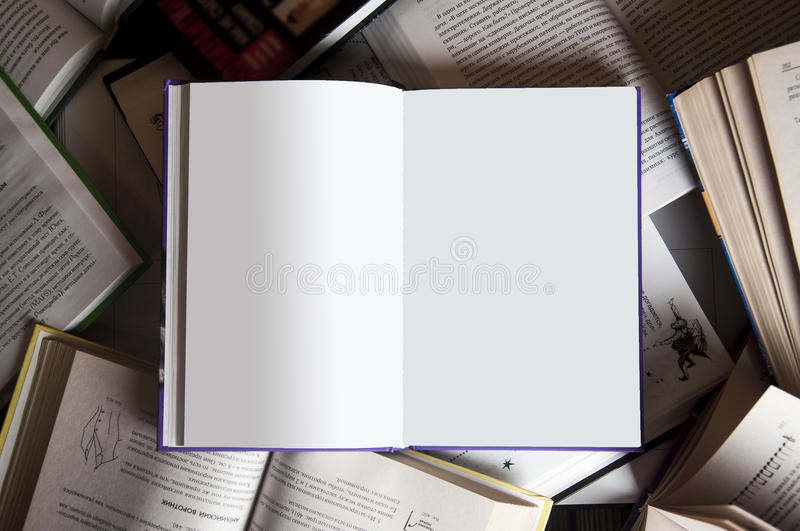 Book among books stock images