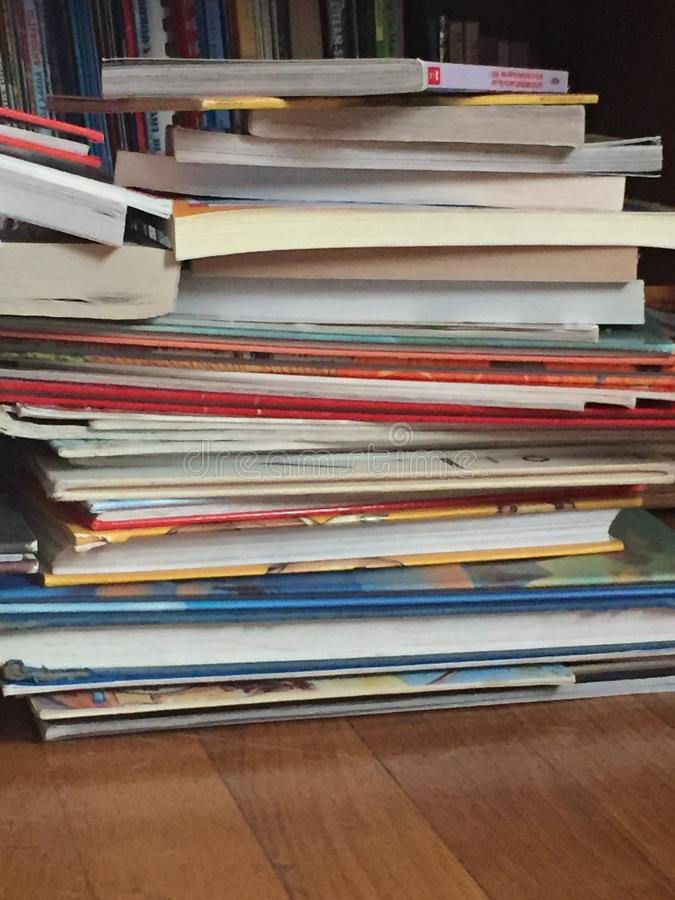 Book, books, and more books stock image