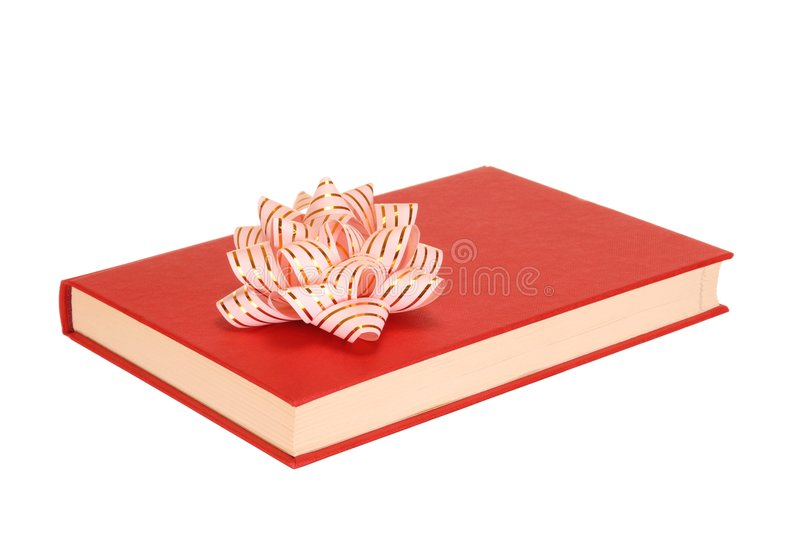 Book with Bow royalty free stock image