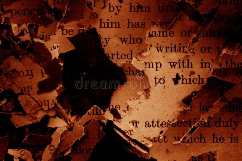 book burned στοκ φωτογραφίες με δικαίωμα ελεύθερης χρήσης