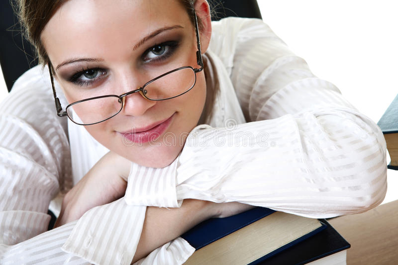 Download Book stock photo. Image of education, girl, beautiful - 30549682