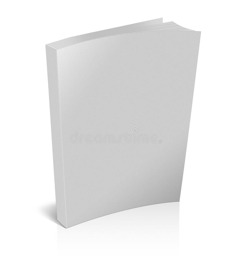 Book closed stock illustration image of blank desk for Free ebook covers templates