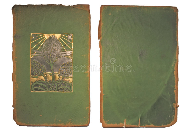Book cover. An antiqe book cover dating from 1897 stock photo