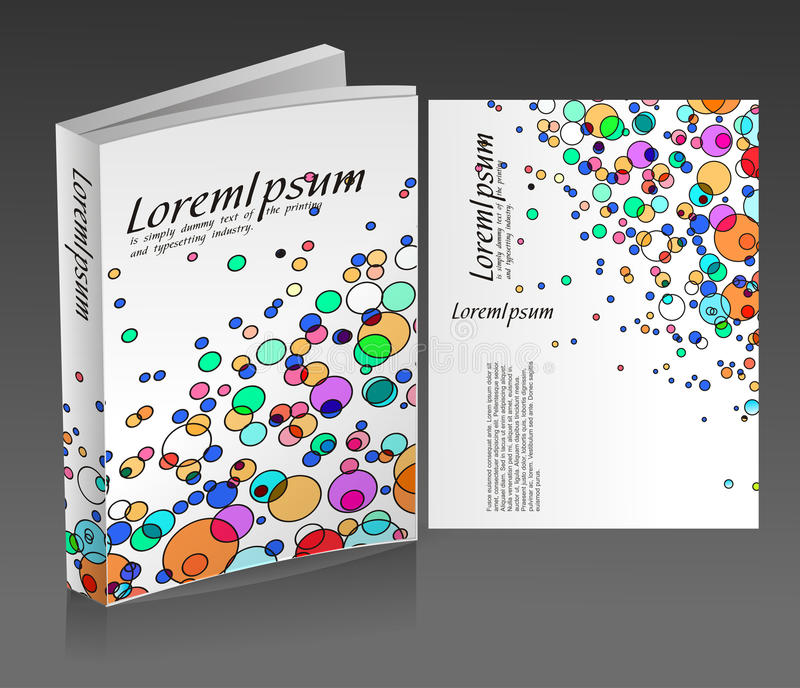 Book Cover Design Royalty Free Stock Photography