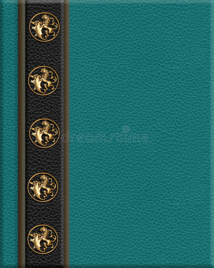 Book Cover Images Royalty Free : Book cover leather look royalty free stock photo image