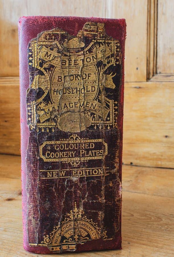 Book di sig.ra Beeton della gestione della famiglia fotografie stock libere da diritti