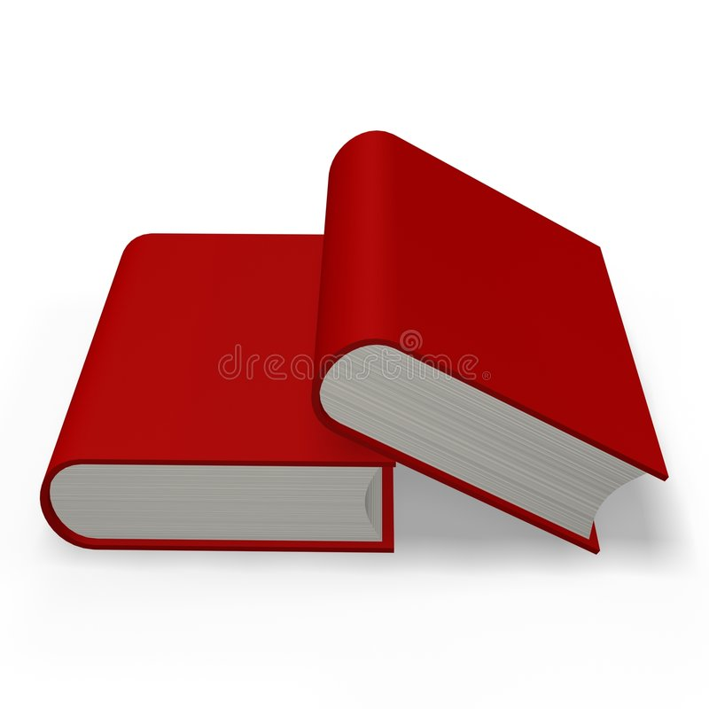 Book or dictionary royalty free illustration