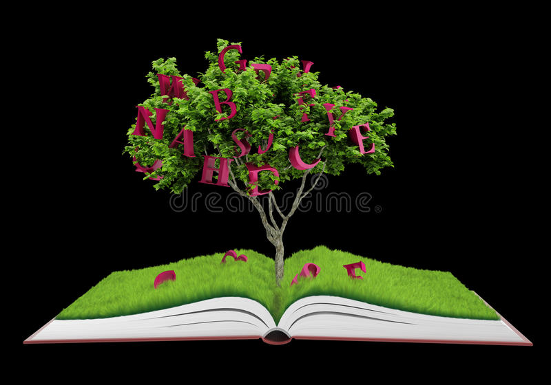 Download Book fantasy stock illustration. Illustration of background - 26822110