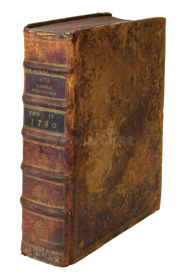 book gammalt royaltyfria bilder