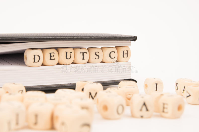 Book german royalty free stock photography