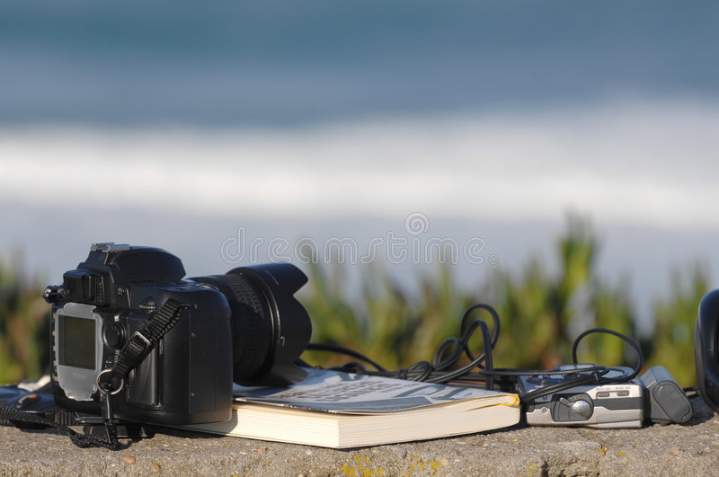 Download Book,headphones And Photo Camera Stock Image - Image of electronics, academic: 5316121