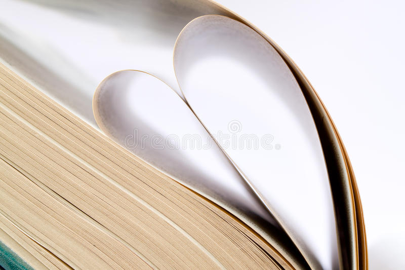 Book Heart Royalty Free Stock Photo