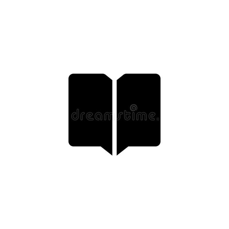 Book icon. Telephone number book sign stock image