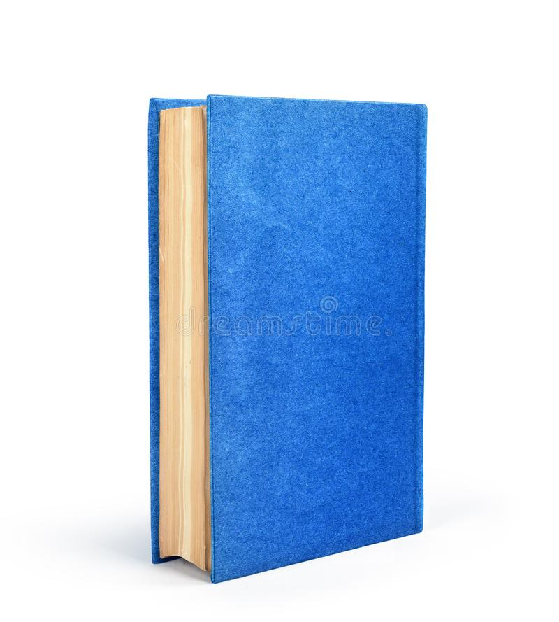 Book isolated. On a white background stock photos