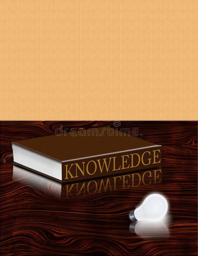 Download Book of Knowledge stock illustration. Image of render - 2200665
