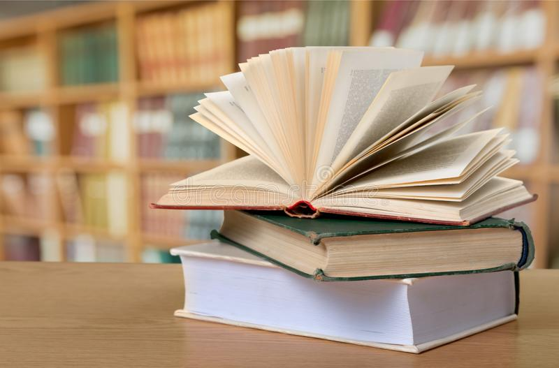 Book in library. School back dictionary estate real teacher royalty free stock photos