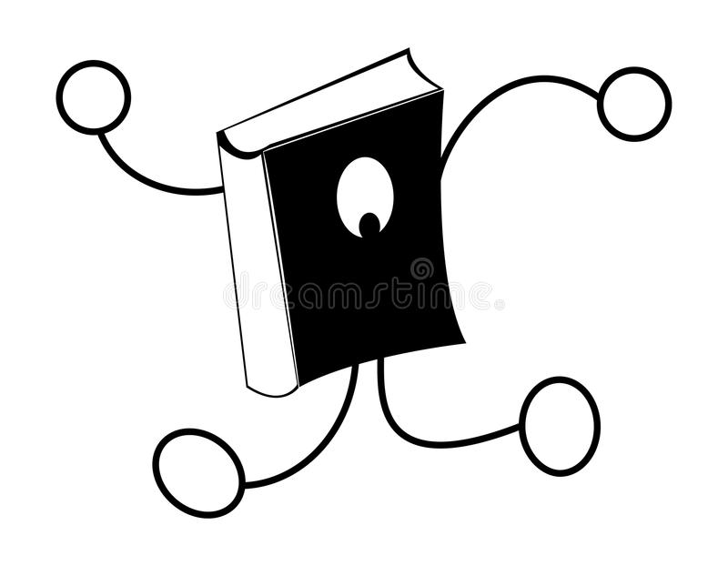 Download Book logo stock illustration. Illustration of college - 17154927