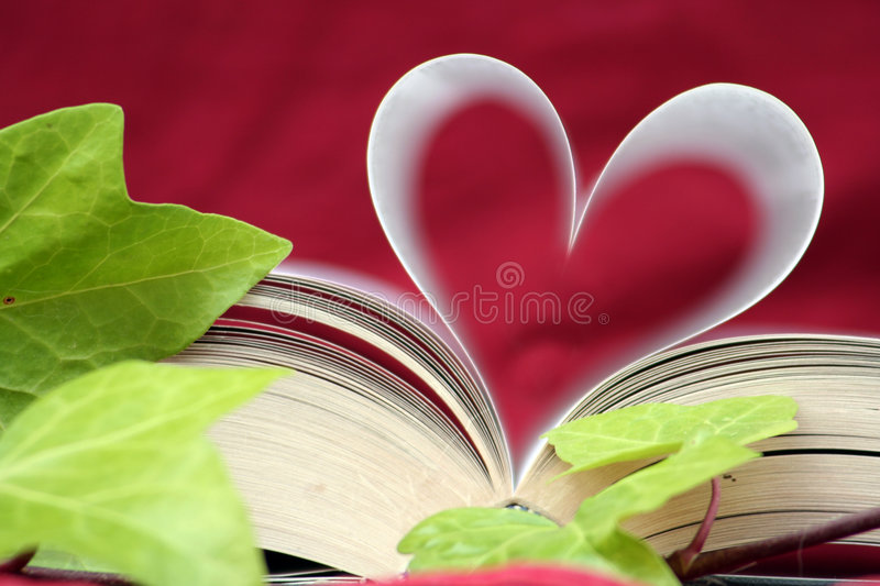 Download The Book Of Love Close Up Royalty Free Stock Photos - Image: 981838