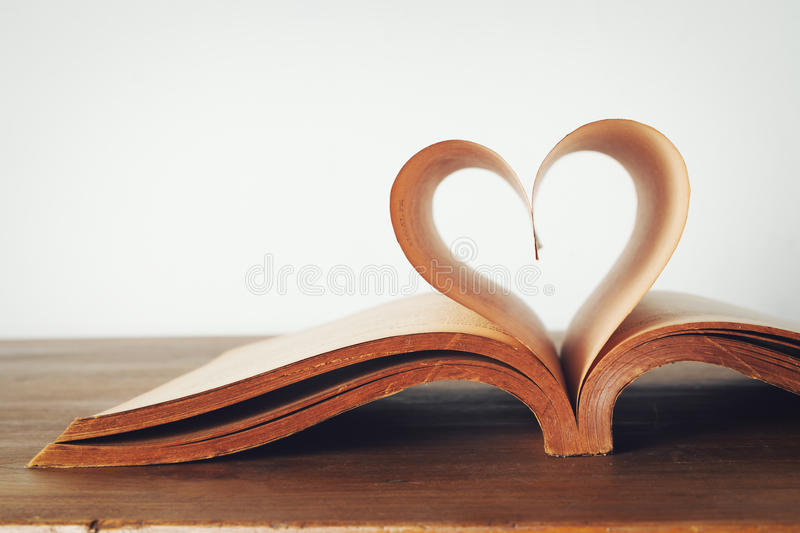 Book of love stock photos