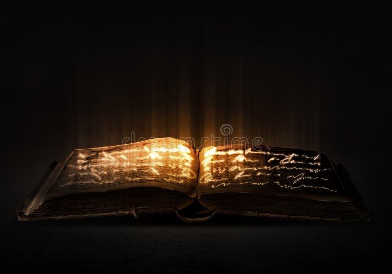book magic стоковое изображение