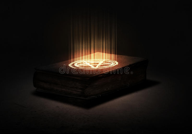 book magic 免版税库存图片