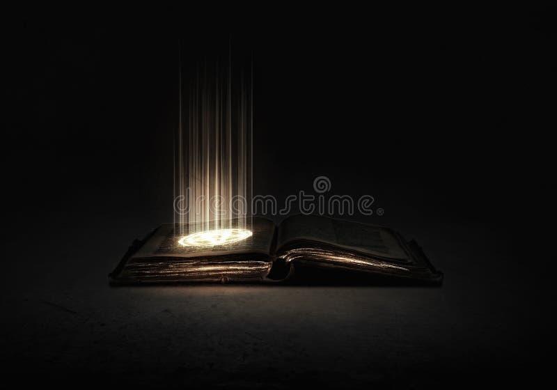 book magic стоковая фотография rf