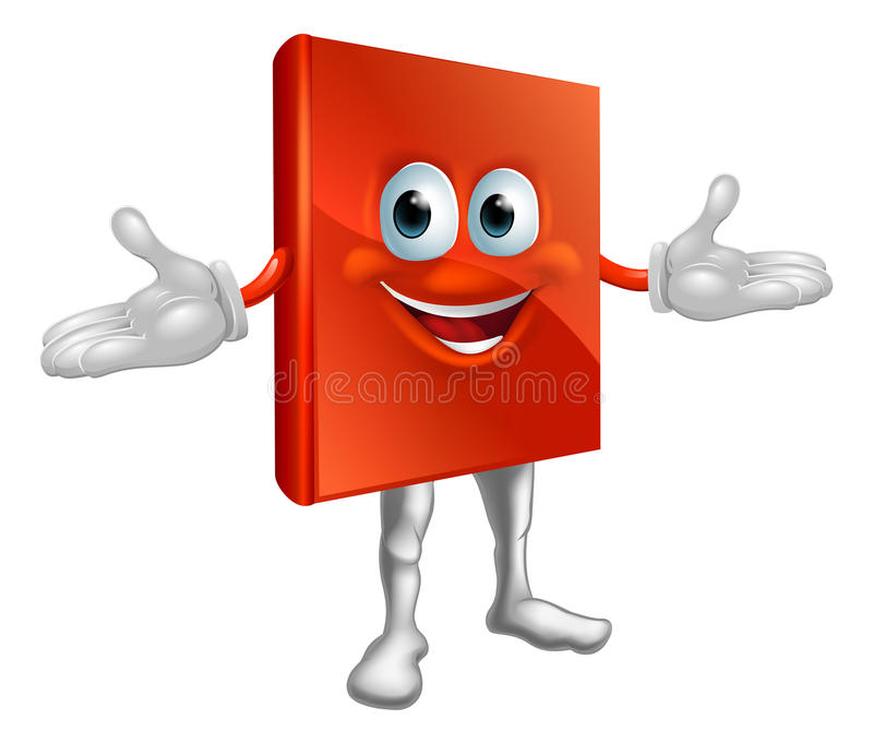 Download Book Mascot Education Character Stock Vector - Illustration of drawing, clip: 28024648