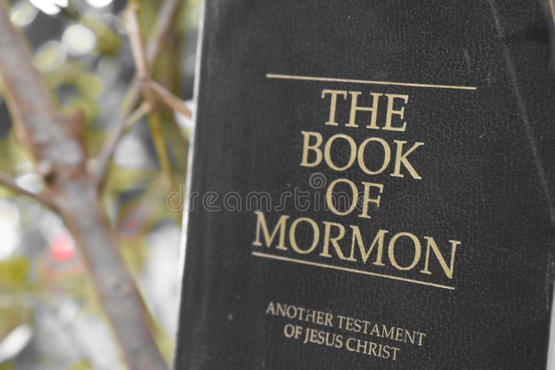 Book of Mormon. It& x27;s the book of mormon stock photos