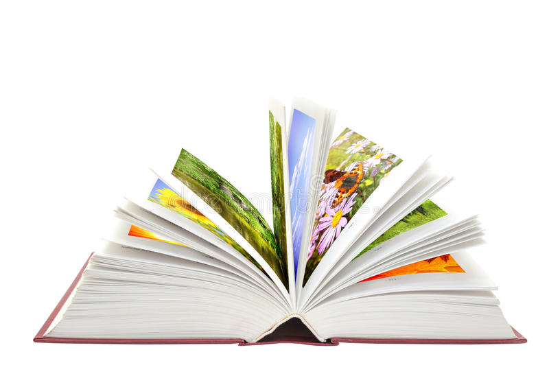 Book Of Nature Stock Photography