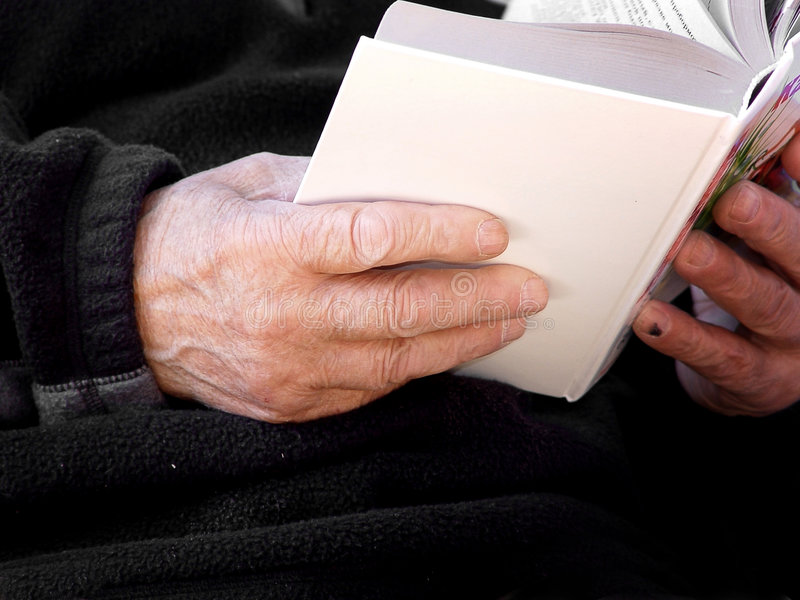 Download Book In Old Hands Royalty Free Stock Photo - Image: 59415
