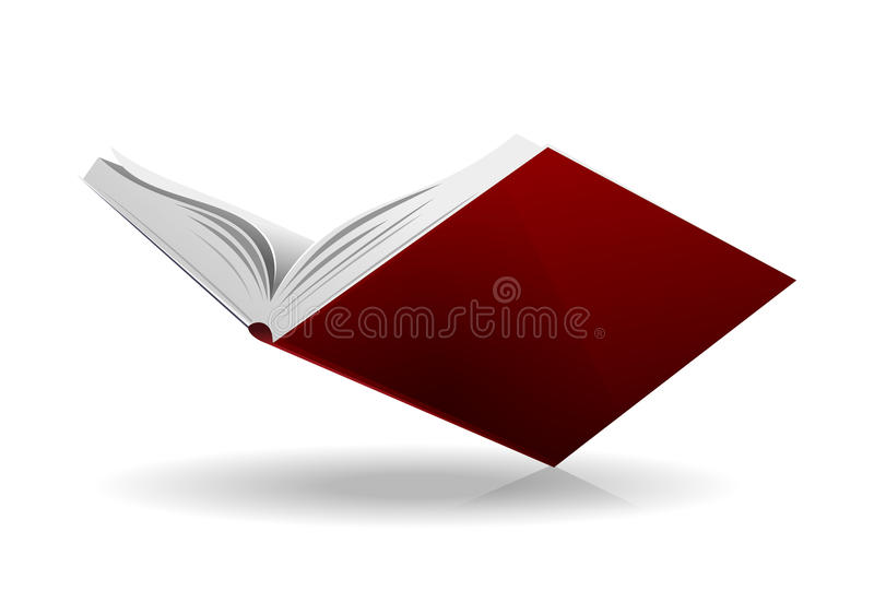 Book open royalty free illustration