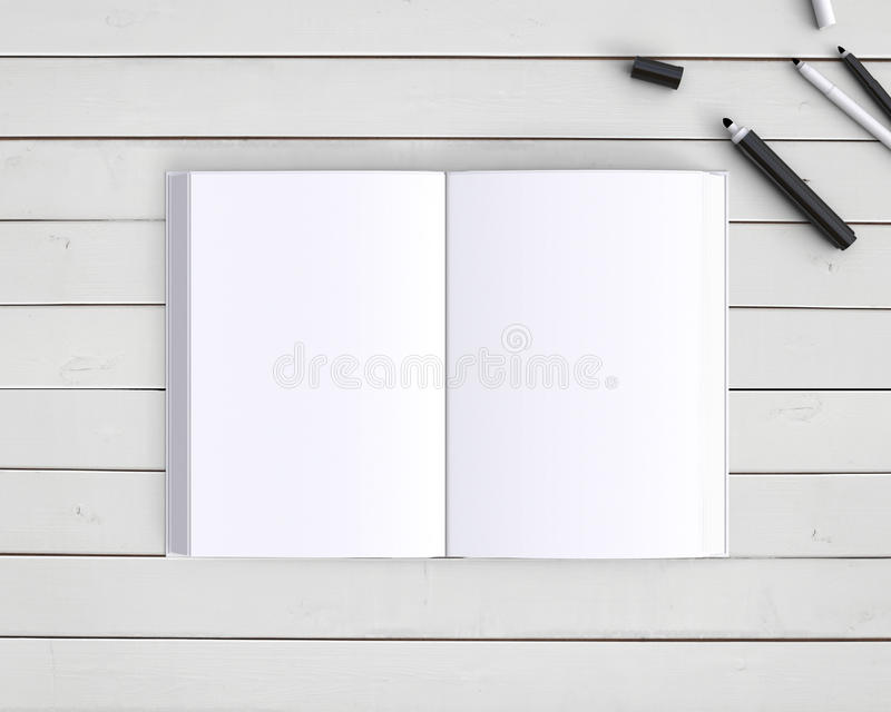 Book and pen royalty free stock photography