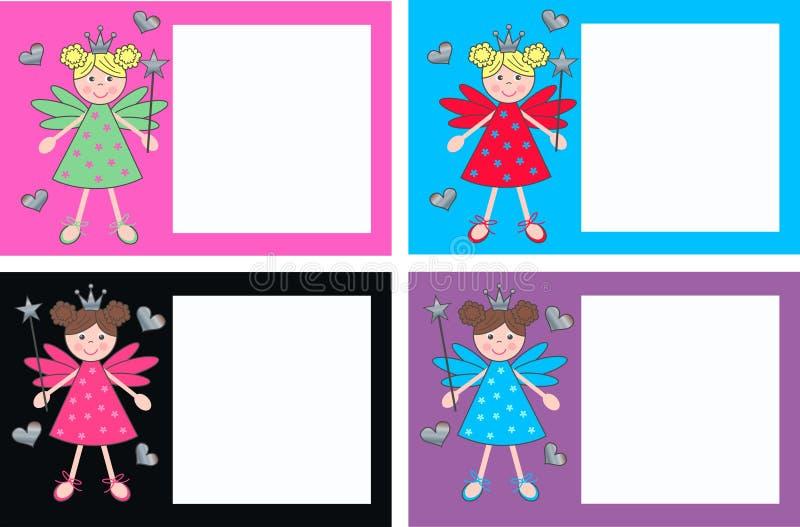 Book plates. Invitation or celebration cards royalty free illustration