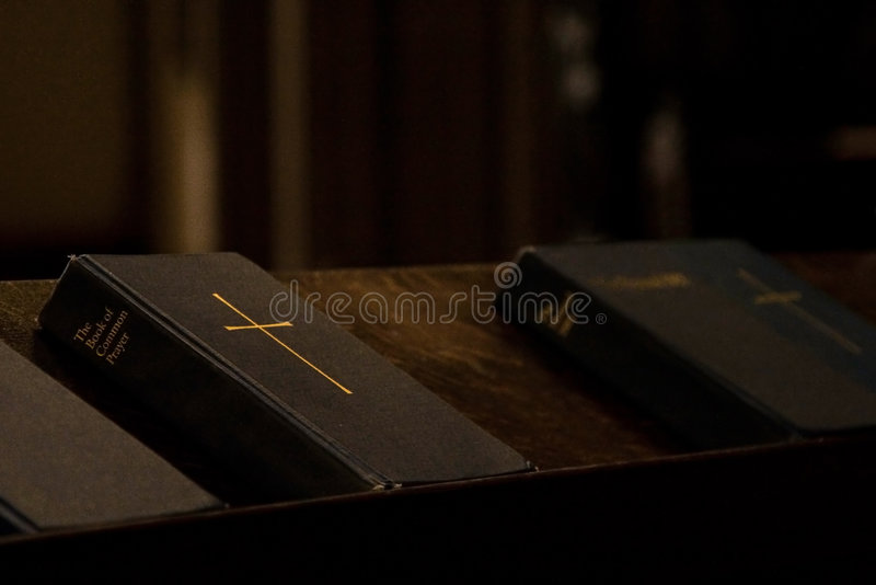 Book of Prayer stock photo