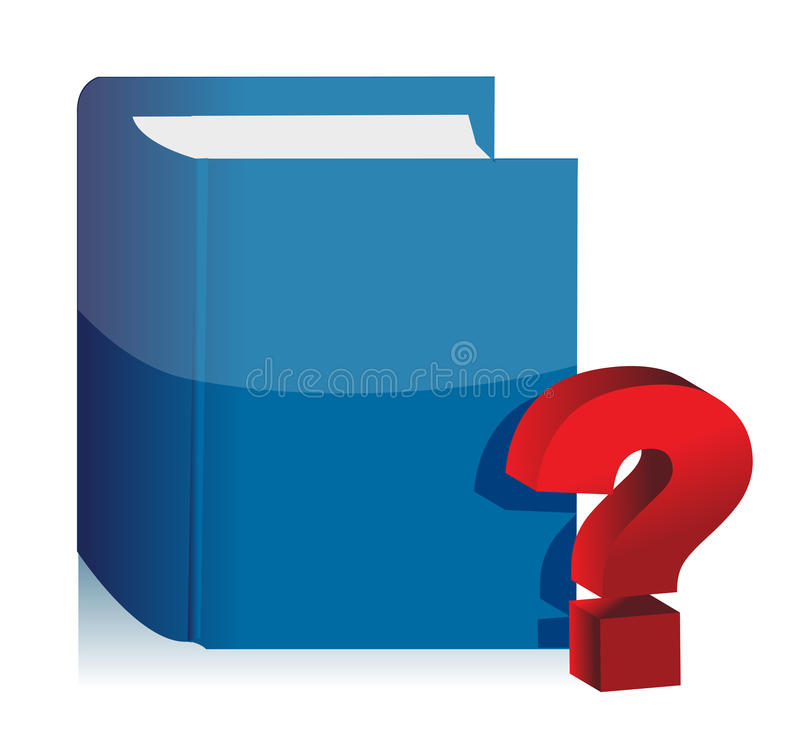 Download Book And Question Mark Illustration Design Stock Illustration - Illustration: 27303799