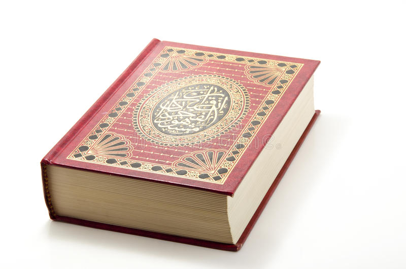 Book of Quran royalty free stock images