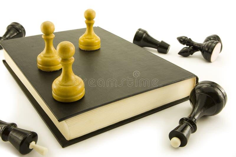 book schacket royaltyfria bilder