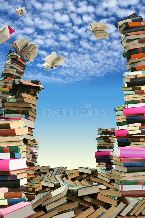Book sellout stock image