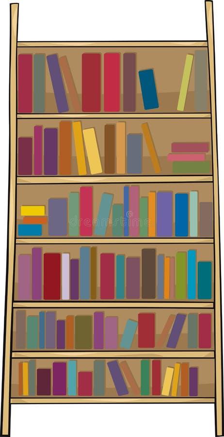 Download Book Shelf Clip Art Cartoon Illustration Stock Vector - Illustration of drawing, object: 33268241