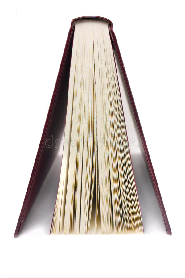 Book from the side stock photography