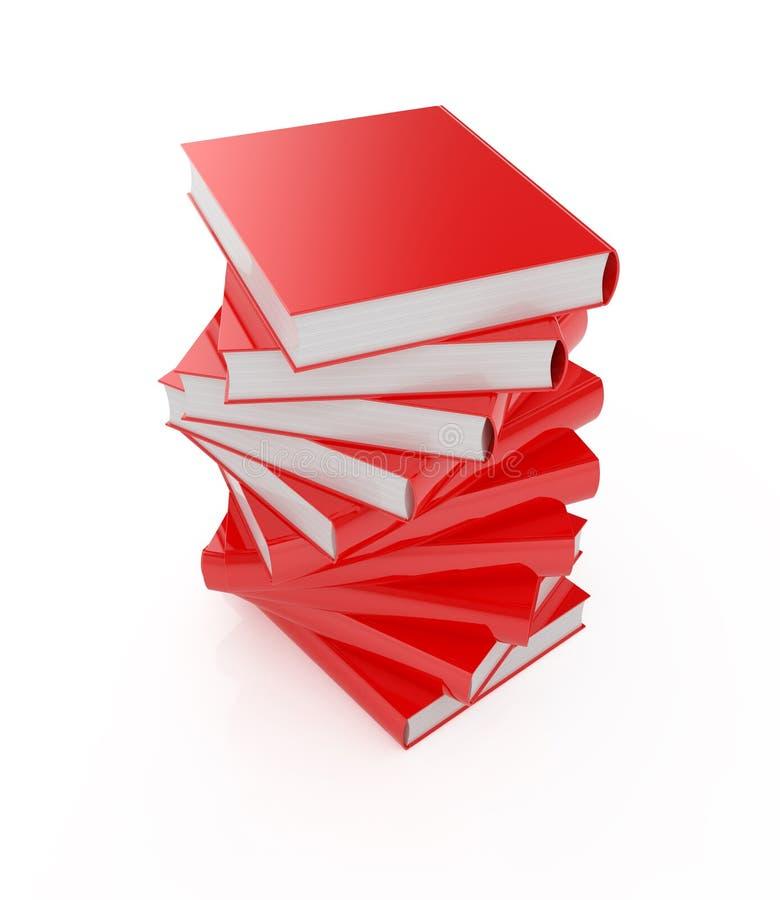 Download Book stack stock illustration. Illustration of pile, background - 20474118