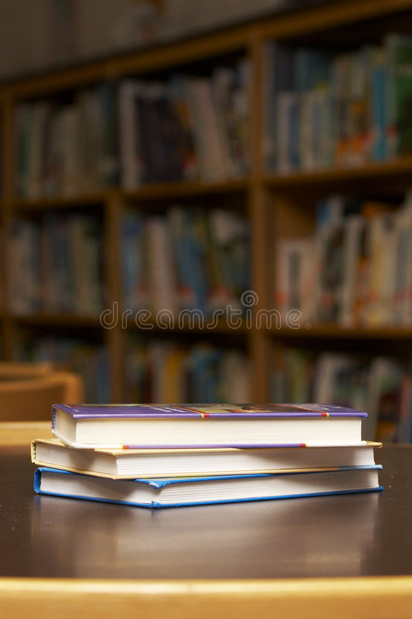 Book stack royalty free stock image