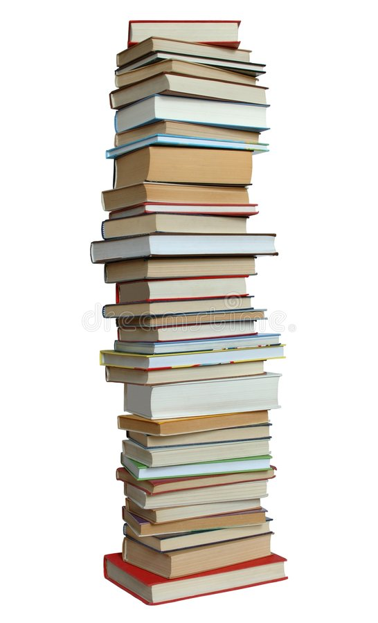 Book Tower stock photo