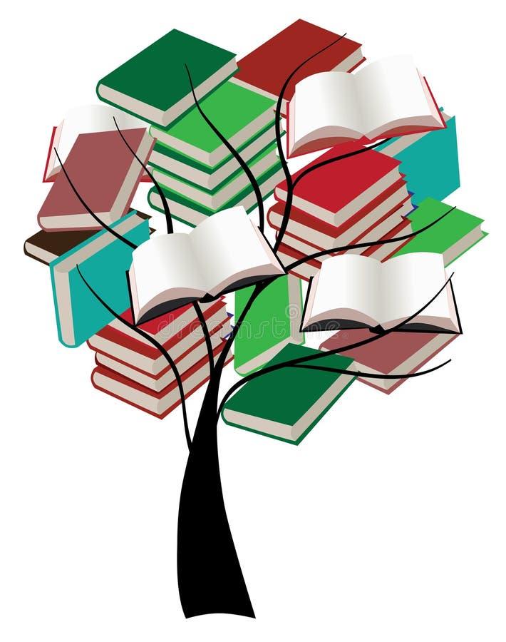 Book Tree Stock Photo