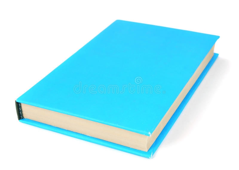 The book. On white background. royalty free stock photography
