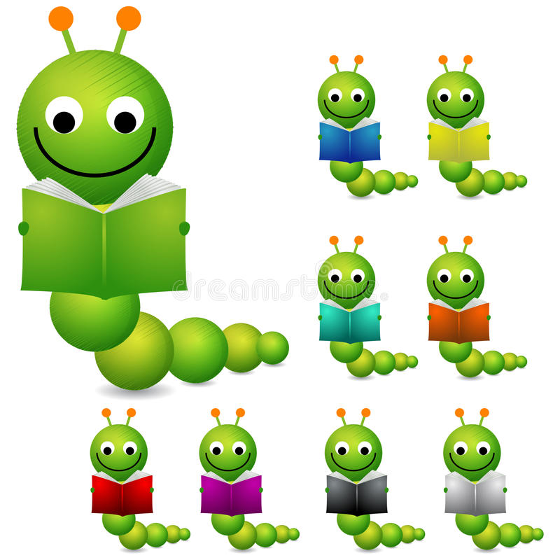 Download Book worm stock vector. Image of educational, school - 18045898