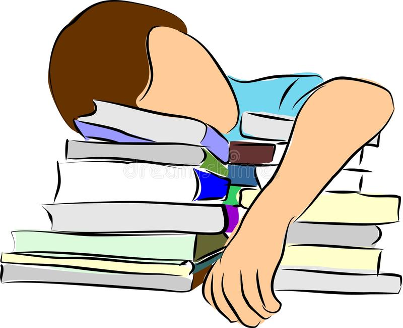 Book worm vector illustration