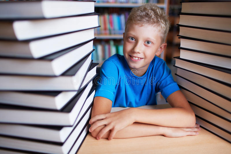 Book worm royalty free stock photo