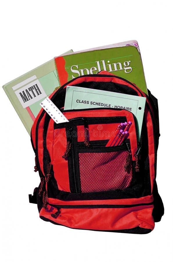 bookbag fotografia stock