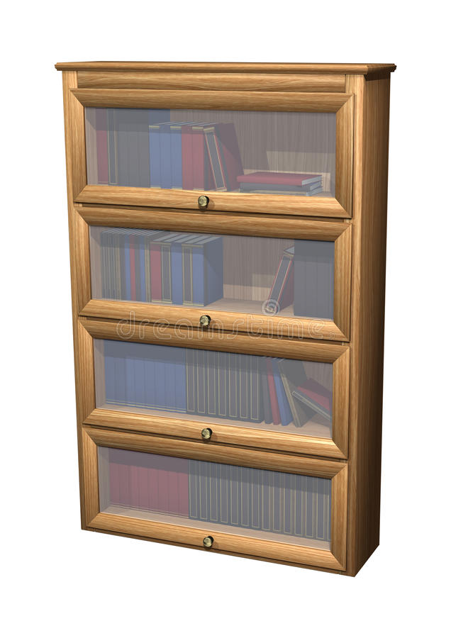 Bookcase royalty ilustracja